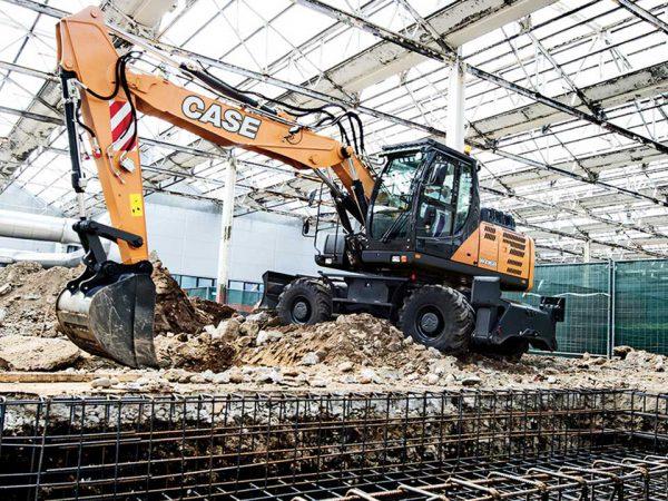 WX168 Case Wheeled Excavator   TISCA   Tractor Implement Supply Company of Australia