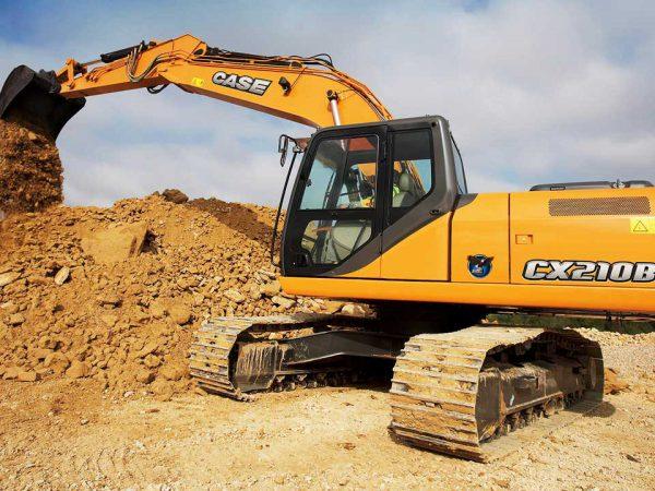 Cat excavators cx210b dry hire sunshine coast   TISCA   Tractor Implement Supply Company of Australia